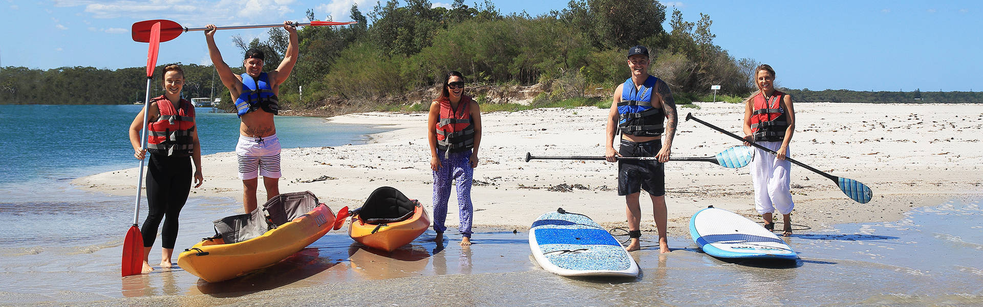 Kayak Hire Jervis Bay