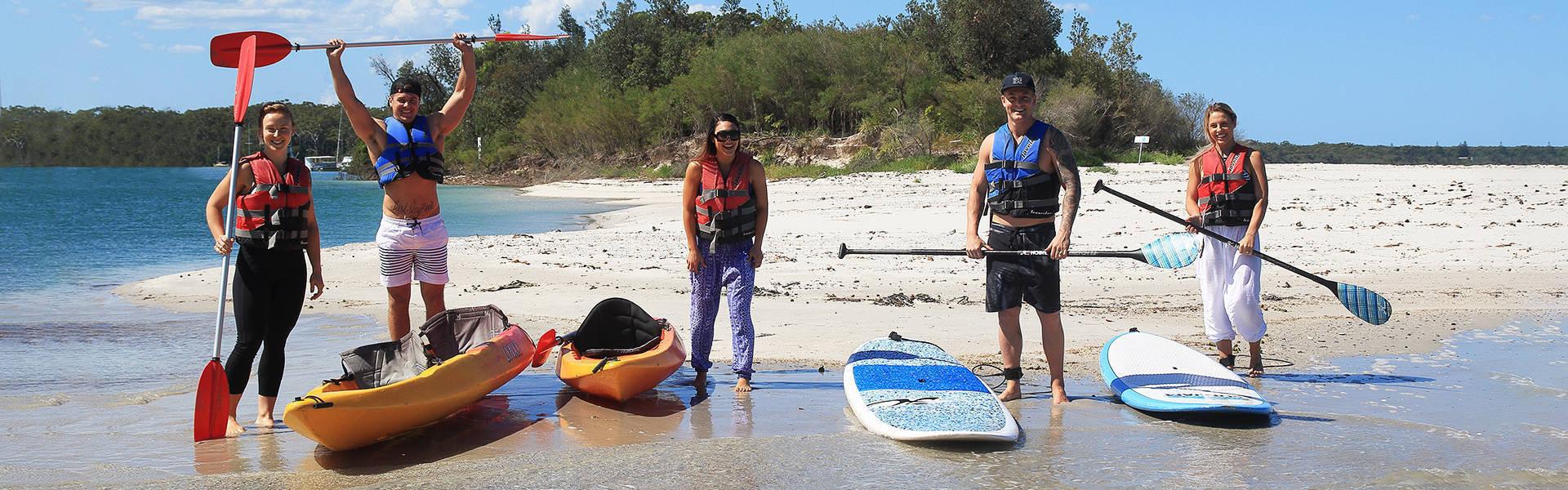 Kayak Hire Jervis Bay